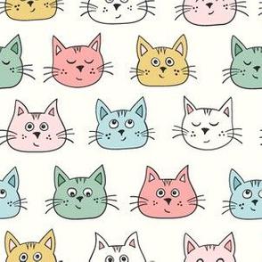 Cute kittens - multicoloured