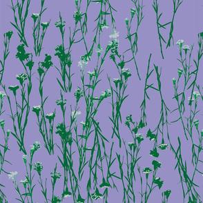 WILD FLOWERS LILAC