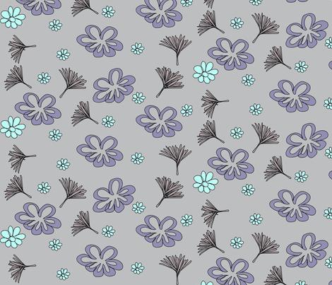 flower breeze-ch fabric by lucy_feeney on Spoonflower - custom fabric