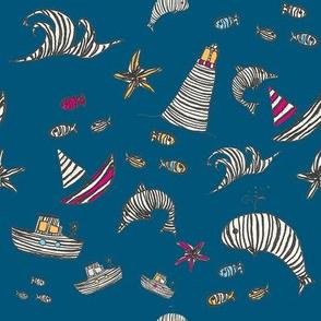 Striped Sea World
