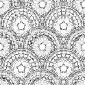 Fractal Mandala Deco 03