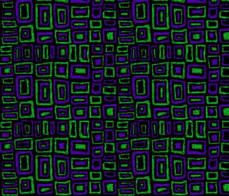 Rustic Rectangles fabric by fabricadabra_creations on Spoonflower - custom fabric