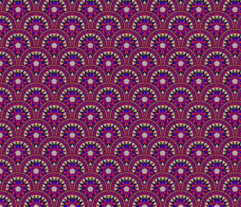 Fractal Mandala Deco 06 fabric by anneostroff on Spoonflower - custom fabric