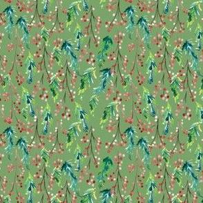 IBD Pine Berry Pistachio 3.5x3.5