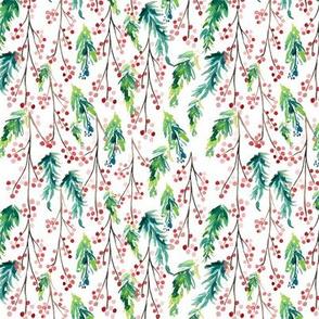 IBD Pine Berry White 5.25x5.25