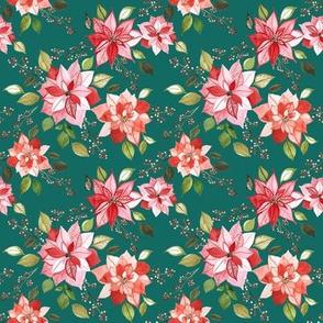 Poinsettia berry EMERALD 4x4
