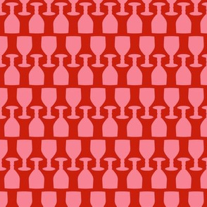 Rows of Drinks