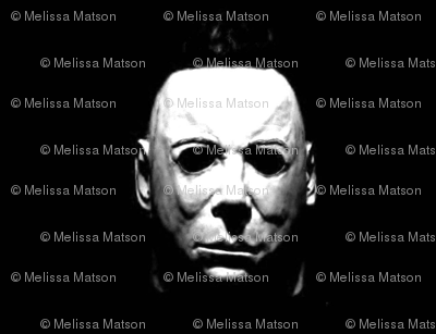 michael myers -black - halloween
