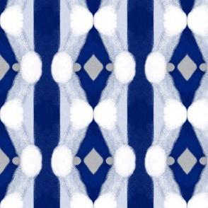 Blue Brushed Diamonds