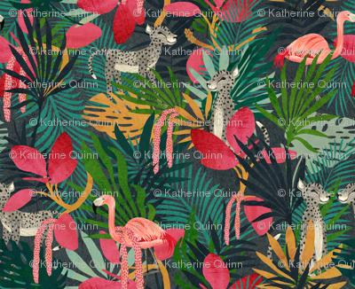 tropical lush Jungle