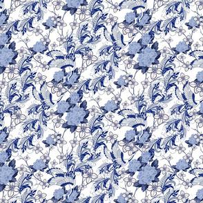 Chinoiserie Swans