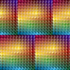 Blocks of Rainbow Circles