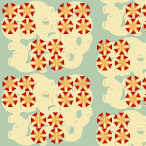 Mac- Cheese pinwheels