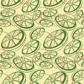 Simple Christmas Wheels
