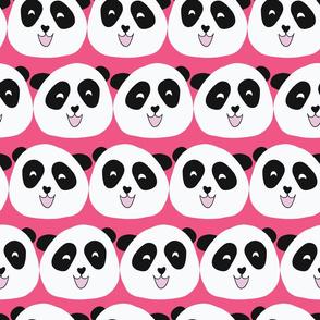 Cute Pandas Pink