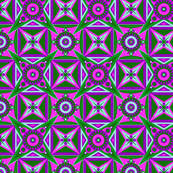 Thorny Tile//Purple