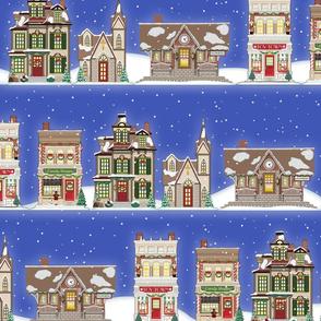 Snowberg houses flat