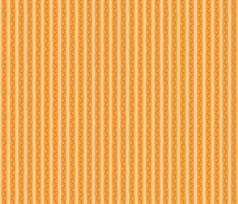 Vines and Soft Stripes on Sienna fabric by andrusgardens on Spoonflower - custom fabric