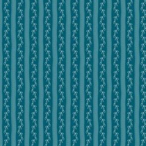 White Vine and soft Stripes on Ocean