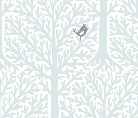 Forest animals fabric by daria_rosen on Spoonflower - custom fabric