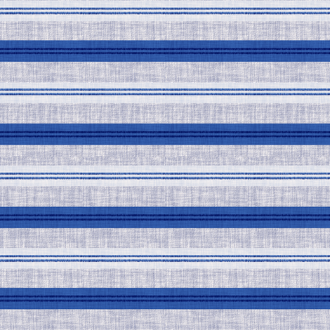 The Blues Stripes 4 fabric by anniedeb on Spoonflower - custom fabric