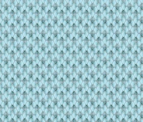 Small Silver cracked ice Gemstone Dragon Scales fabric by rusticcorgi on Spoonflower - custom fabric