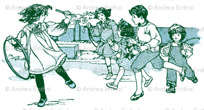 1916 Playground Kids