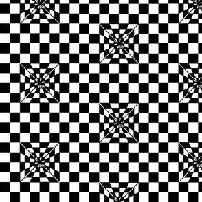 Pyramid Black and White