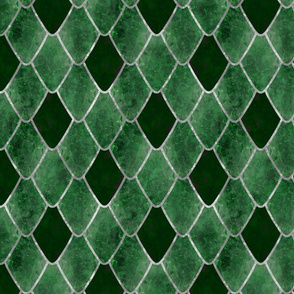 Emerald Snake Gemstone Dragon Scales
