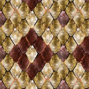 Volcanic fools gold Gemstone Dragon Scales