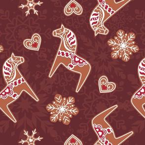 Red Dala Gingerbread