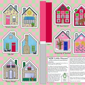 adk little house ornaments