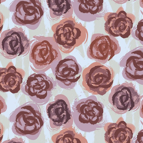 Painted Roses with Painted Ground-01