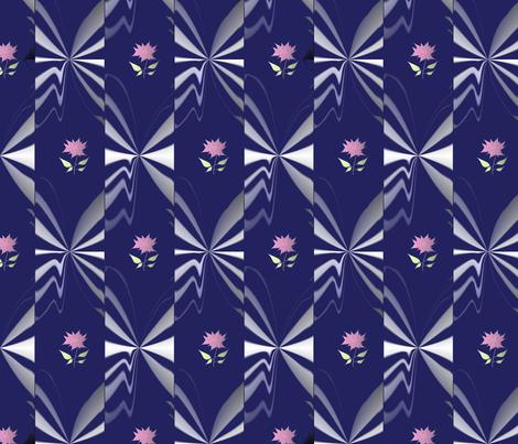 illusion flowers fabric by creativity1004 on Spoonflower - custom fabric