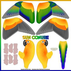 Sun Conure (Basic)