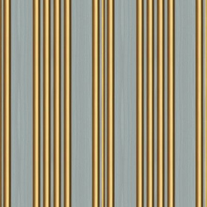 French Ticking ~ Carterhaugh Wood and Gilt Moldings