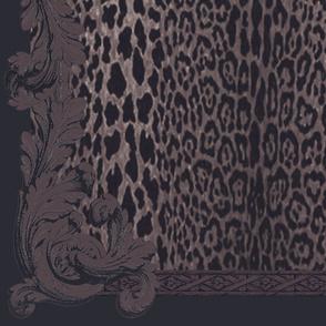 Grey Leopard Baroque