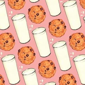 Milk & Cookies - Pink