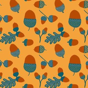 october acorns
