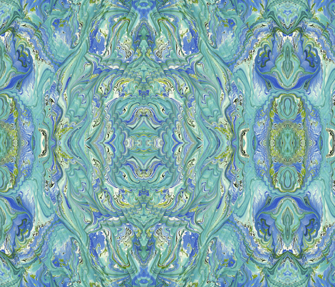 Grecian Shores fabric by nikthebooksmith on Spoonflower - custom fabric