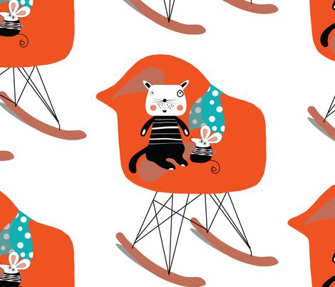 sweet dr-eames! fabric by screamingsquirrelstudio on Spoonflower - custom fabric