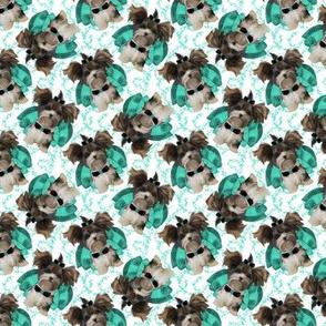 """Parti Yorkie - Tiffany Swirl - 1 1/2"""""""