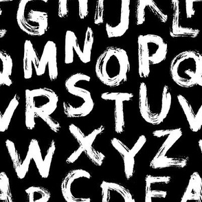 Alphabet black small letters