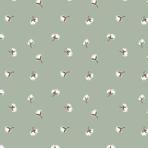 Cotton Boll Calico | Organic Eggshells