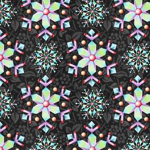 Kaleidoscope Snowflakes