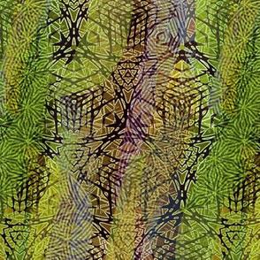 mandala-lime green