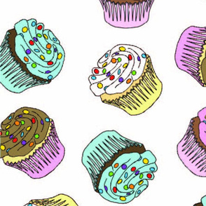 cupcakes for spoonflower