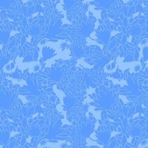 Soft-Blue-Floral-Sillihoutte