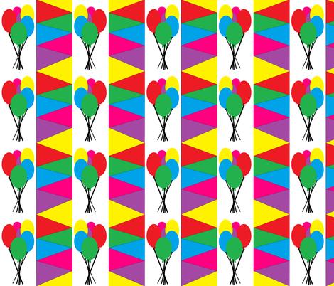Balloon fun2-lrg fabric by buzy_bee on Spoonflower - custom fabric