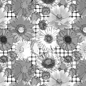 _Flowers grid-gray